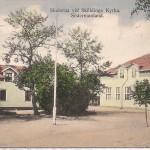 Skolorna vid Sköldinge kyrka. före 1915
