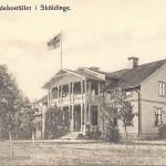 Kyrkoherdebostället i Sköldinge, sommaren 1908