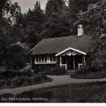 Vävstugan vid Åsa folkhögskola före 1940