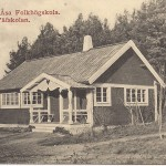 Kantorp Åsa folkhögskola väfskolan före 1911