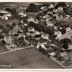 Flygfoto över Sköldinge före 1952
