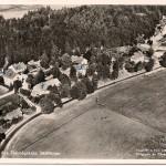 Flygfoto över Åsa folkhögskola före 1952