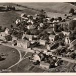 Flygfoto Sköldinge före 1956