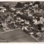Flygfoto över Sköldinge före 1950