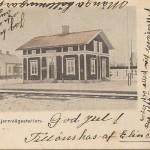 Kantorps järnvägsstation före 1903