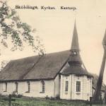 Sköldinge kyrka Kantorp före 1902