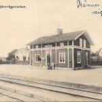 Kantorps järnvägsstation före 1909